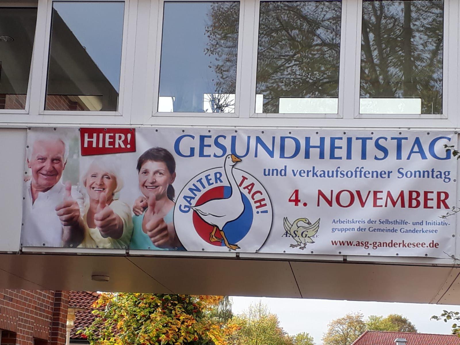 Banner Gesundheitstag