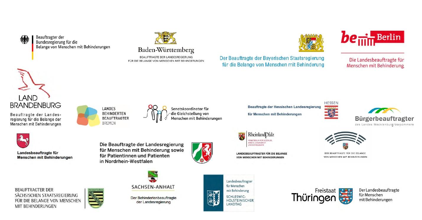 Logos der Landesbeauftragten